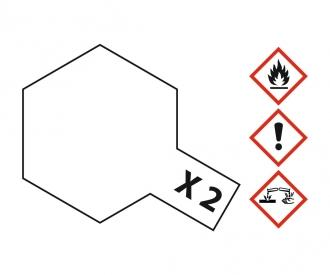 X -2 WEIß glänzend 23 ml