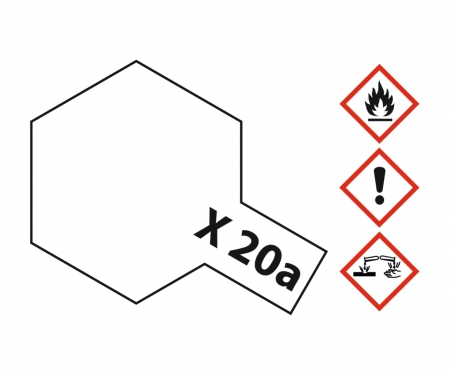 X-20A Thinner 23ml Acrylic