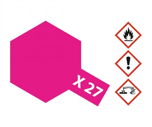 X-27 Klar-Rot glänzend 23ml