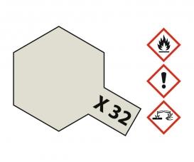 X-32 Titanium Silber glänzend 23ml