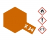 X-34 Metallic Brown Gloss 23ml