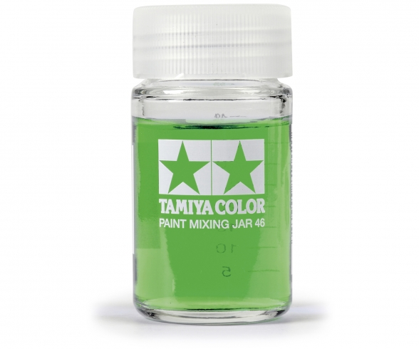 Tamiya Paint Mixing Jar 46ml rou.w/Meas.