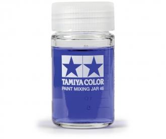 Tamiya Paint Mixing Jar 46ml rou.w/Meas.