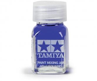 Tamiya Farb-Mischglas eckig 10ml