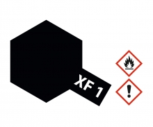 XF-1 Schwarz matt 23ml