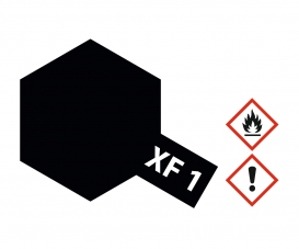 XF-1 Flat Black 23ml