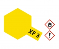 XF-3 Flat Yellow 23ml