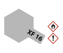 XF-16 Flat Aluminium 23ml