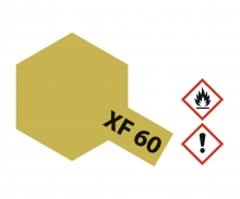 XF-60 Flat Dark Yellow 23ml
