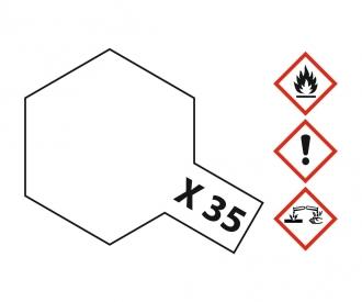 X-35 Klarlack seidenmatt 10ml Acryl