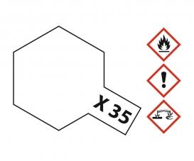 X-35 Semi Gloss Clear 10ml Acrylic