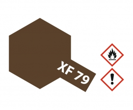 XF-79 Flat Lino Deck Brown 10ml
