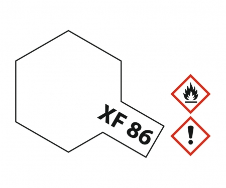 XF-86 Flat Clear 10ml Acrylic