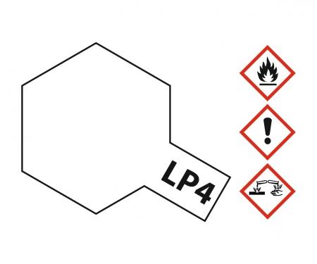 LP-4 Weiss matt 10ml (VE6)