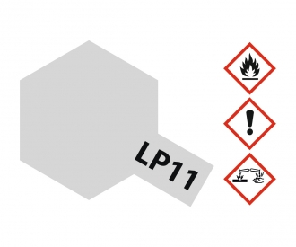 LP-11 Silber glänzend 10ml (VE6)