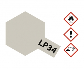 LP-34 Light Gray Flat 10ml