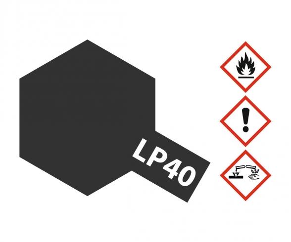 LP-40 Metallic-Schwarz glzd. 10ml