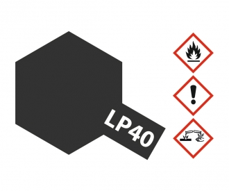 LP-40 Metallic Black gloss 10ml