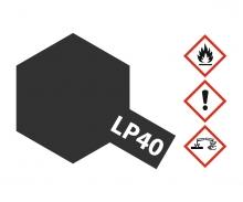 LP-40 Metallic-Schwarz glzd. 10ml (VE6)