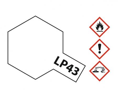 LP-43 Mica Perlweiss glzd. 10ml (VE6)