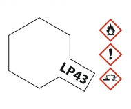 LP-43 Mica Perlweiss glzd. 10ml (VE6)