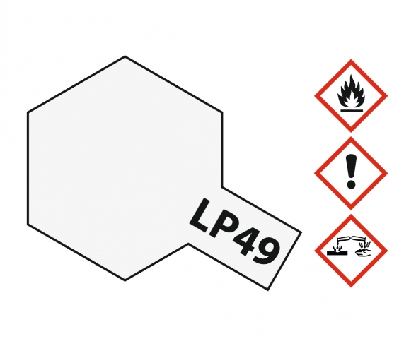 LP-49 Perleffekt klar glzd. 10ml (VE6)