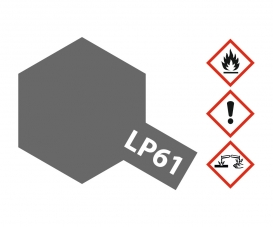 LP-61 Metallic Gray Flat 10ml
