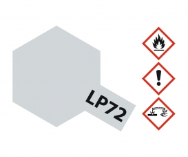 LP-72 Mica Silver gloss 10ml