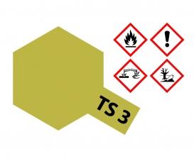 TS-3 Dark Yellow Flat 100ml