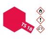 TS-18 Metallic Rot glänzend 100ml