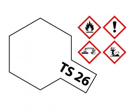 TS-26 Weiss glänzend 100ml
