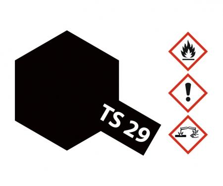 TS-29 Schwarz seidenmatt 100ml