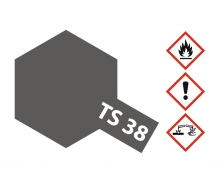 TS-38 Gun Metal Semi Gloss 100ml