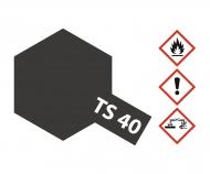 TS-40 Metallic Schwarz glänzend 100ml