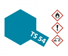 TS-54 Metallic Blau Hell glänzend 100ml