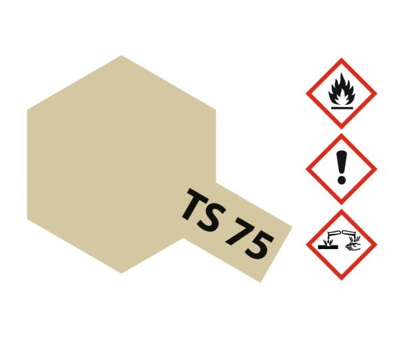 TS-75 Champagne Gold Gloss 100ml
