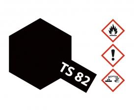 TS-82 Black Rubber Flat 100ml