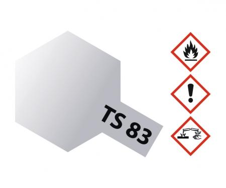 TS-83 Metallic Silber glänzend 100ml