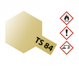 TS-84 Metallic Gold Gloss 100ml