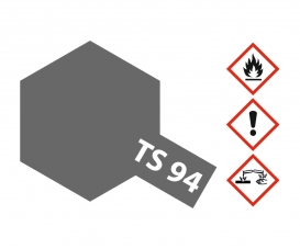 TS-94 Metallic Grau glänzend 100ml