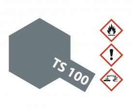 TS-100 Semi Gloss Bright Gun Metal 100ml