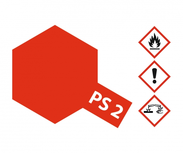 PS-2 Rot Polycarbonat 100ml