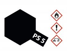 PS-5 Black Polycarbonate 100ml