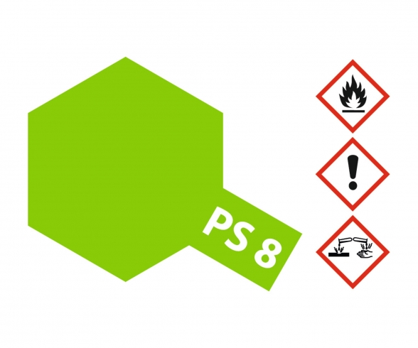 PS-8 Light Green Polycarbonate 100ml