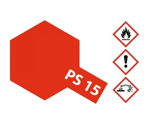 PS-15 Metallic Red Polycarbonate 100ml