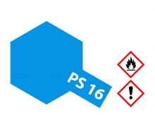 PS-16 Metallic Blau Polycarbonat 100ml