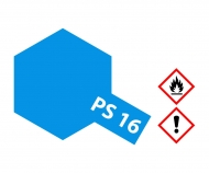 PS-16 Metallic Blue Polycarbonate 100ml