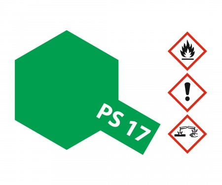 PS-17 Metallic Grün Polycarbonate 100ml