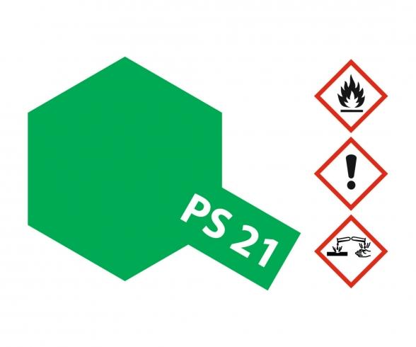 PS-21 Park Green Polycarbonate 100ml