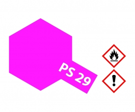 PS-29 Flourescent Pink Polycarb. 100ml